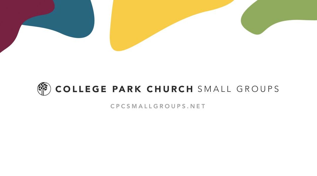 "Did You Miss, ""Is My Small Group Friends?"""